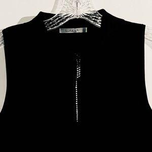 Belldini Black Knit Top NWOT